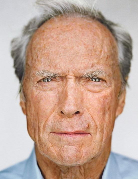 martin schoeller clint eastwood portrait alland robert