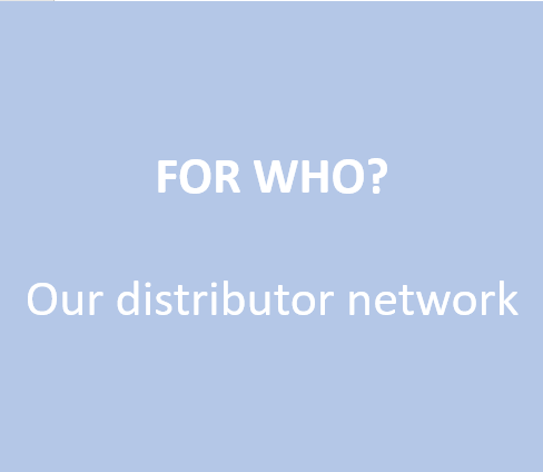 For our distributor network